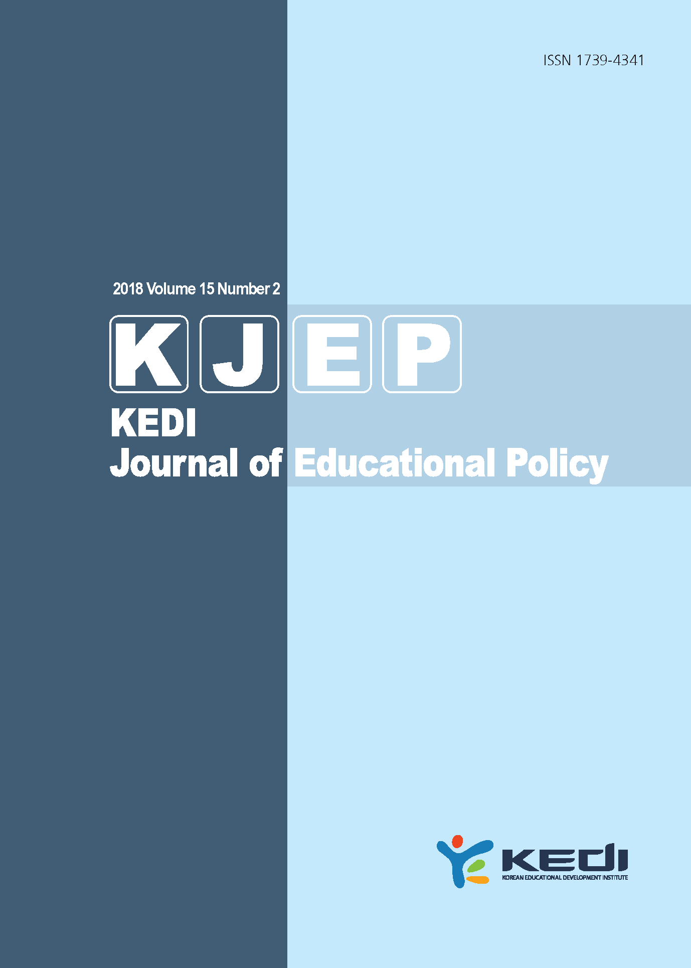 KEDI Journal of Educational Policy Vol.15 No.2 2018